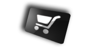 Shopping cart ecommerce icon